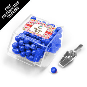 Sweet Party Personalized Candy Bin Dispenser with Scoop 12 Pack
