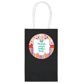 """Sweet Party Personalized 5"""" Handle Bags (24 pack)"""