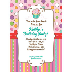 Sweet Party Personalized Invitation