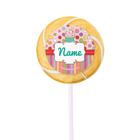 "Sweet Party Personalized 2"" Lollipops (24 Pack)"