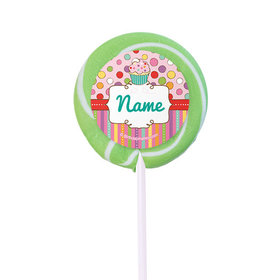 """Sweet Party Personalized 2"""" Lollipops (24 Pack)"""