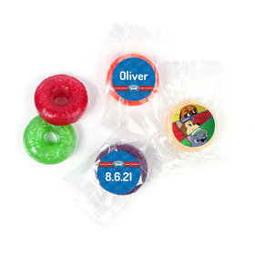 Personalized Birthday Paw Command LifeSavers 5 Flavor Hard Candy