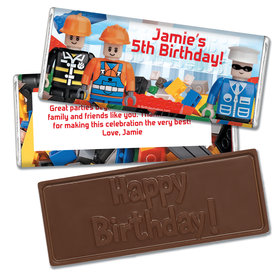 Birthday Tek Embossed Happy Birthday Bar