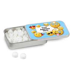 Personalized Emojis Mint Tin (12 Pack)