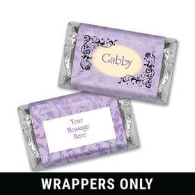 Mystic Garden Birthday Personalized Miniature Wrappers