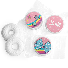 Personalized Birthday Party Bows Life Savers Mints