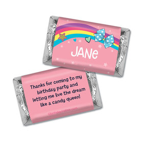 Personalized Party Bows Birthday Hershey's Miniatures Wrappers
