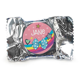 Personalized Birthday Party Bows Peppermint Patties