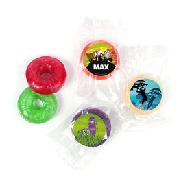 Birthday Battle Game Personalized 5 Flavor Hard Candy
