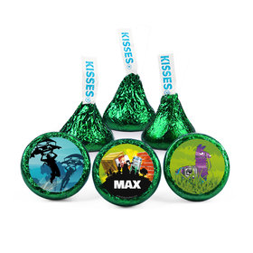 Personalized Birthday Pajama Heroes Hershey's Kisses (50 pack)