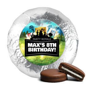 Personalized Birthday Battle Game Milk Chocolate Covered Foil Oreos