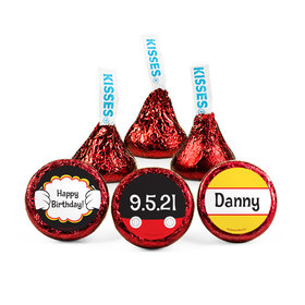 Personalized Birthday Mickey Party Hershey's Kisses (50 pack)