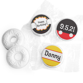 Personalized Birthday Mickey Party Life Savers Mints