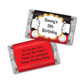 Personalized Mickey Party Birthday Hershey's Miniatures Wrappers