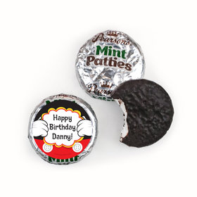 Personalized Birthday Mickey Party Pearson's Mint Patties