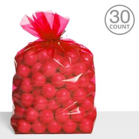 Cello Bags Red (30 Count)