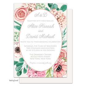 Bonnie Marcus Collection Personalized Blossom Bliss Invitation