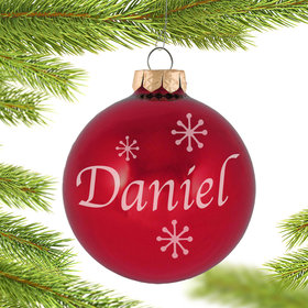 Personalized Birthstone Christmas Ornament - All Months