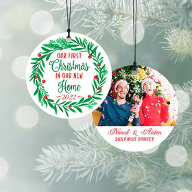 Personalized First Christmas in Our New Home