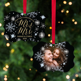 Personalized First Christmas Wedding