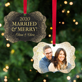 Personalized Married & Merry