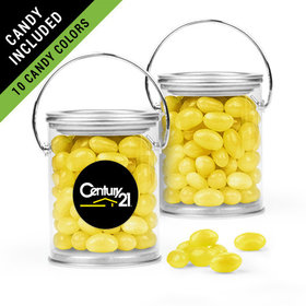 Personalized Business Add Your Logo Favor Assembled Paint Can Filled with Just Candy Jelly Beans