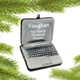 Personalized Laptop Computer