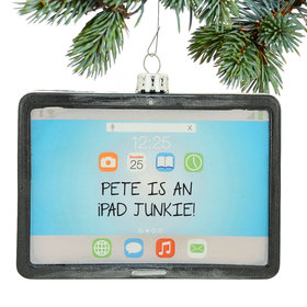 Personalized iPad Tablet Computer