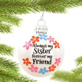 Personalized Always My Sister Forever My Friend
