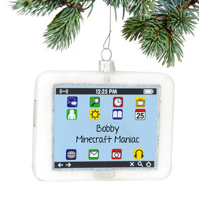 Personalized White iPad Tablet Computer