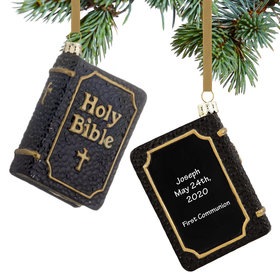 Personalized Black Holy Bible