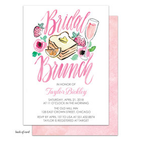 Bonnie Marcus Collection Personalized Bridal Shower Brunch Invitation