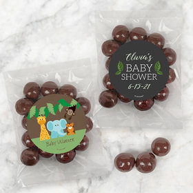 Personalized Baby Shower Candy Bags with Premium Gourmet Barrel-Aged Bourbon Cordials
