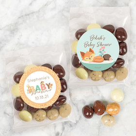 Personalized Baby Shower Candy Bags with Premium Gourmet New York Espresso Beans