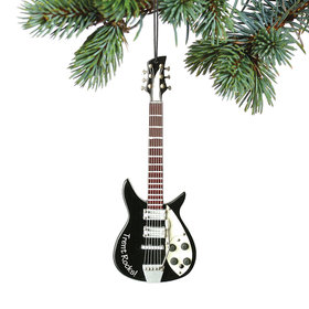 Personalized Black Electric Guitar