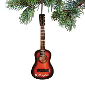 Personalized Brown String Guitar