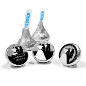 Personalized Wedding Couple Hershey's Kisses (50 Pack)