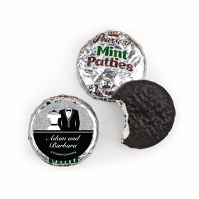 Personalized Wedding Couple Pearson's Mint Patties