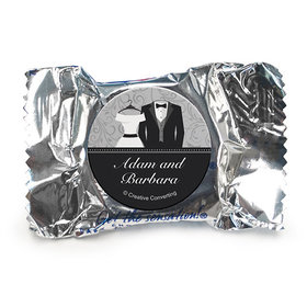 Personalized Wedding Couple York Peppermint Patties (84 Pack)