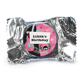 Personalized Birthday Rock Star Girl York Peppermint Patties (84 Pack)