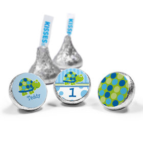 Personalized Birthday Turtle Hershey's Kisses (50 Pack)