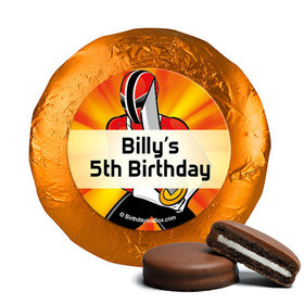 Personalized Birthday Rangers Belgian Chocolate Covered Oreos (24 Pack)