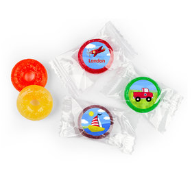 Personalized Birthday Sky & Sea Life Savers 5 Flavor Hard Candy