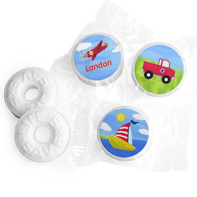Personalized Birthday Sky & Sea Life Savers Mints