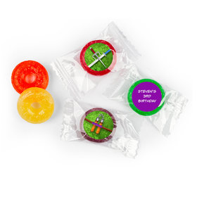 Personalized Birthday Ninja Power Life Savers 5 Flavor Hard Candy