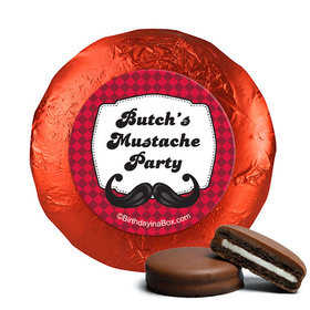 Personalized Birthday Mustache Madness Chocolate Covered Oreos