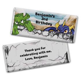 Personalized Birthday Force Chocolate Bar & Wrapper