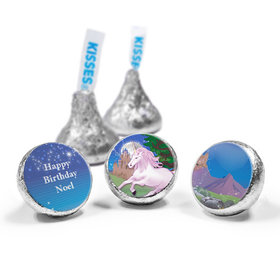 Personalized Birthday Unicorn Hershey's Kisses (50 Pack)