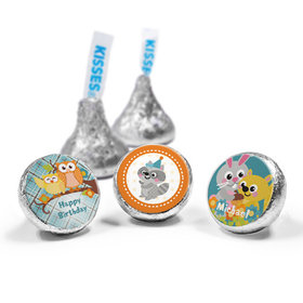 Personalized Birthday Woodland Boy Hershey's Kisses (50 Pack)