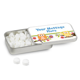 Personalized Woodland Baby Shower Mint Tin (12 Pack)